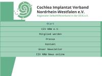 Cochlear Implant Verband Nordrhein-Westfalen e.V.