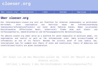 Cloeser.org