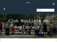 Club Bouliste de Berlin e.V