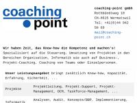 Coaching-Point - Internet-Portal mit Coaching-Angeboten