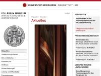 Collegium Musicum der Universität Heidelberg