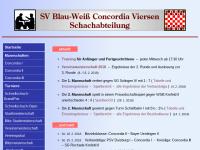 Schachabteilung des SV Blau-Weiß Concordia Viersen 07/24 e.V.