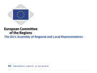 Ausschuss der Regionen (AdR)