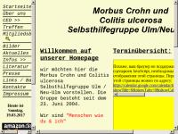 Morbus Crohn/Colitis Ulcerosa Homepage Ulm/Neu Ulm