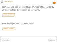 Christlichdemokratische Volkspartei Aargau - CVP