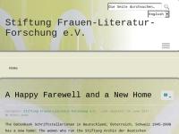 Stiftung Frauen-Literatur-Forschung e.V.
