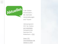 Deutscher Alpenverein Sektion Kaiserslautern
