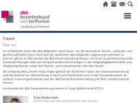 Deutscher Beamtenbund [DBB] - Frauenvertretung Hessen