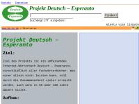 Projekt Deutsch – Esperanto