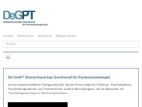 Deutschsprachige Gesellschaft für Psychotraumatologie e.V. (DeGPT)