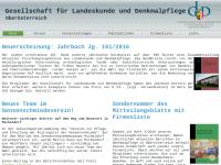 Verein Denkmalpflege in Oberösterreich