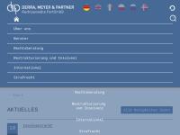 Rechtsanwälte Derra, Meyer und Partner, Ulm, Dresden, Berlin, Bamberg, Köln, Bologna und Mailand