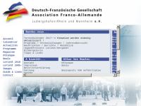 Deutsch-Französische Gesellschaft Ludwigshafen am Rhein/Mannheim e.V.
