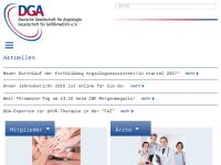 Deutsche Gesellschaft für Angiologie/Gesellschaft für Gefäßmedizin