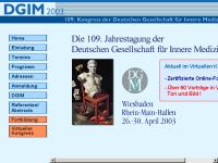 109. Kongress der Deutschen Gesellschaft für Innere Medizin 2003