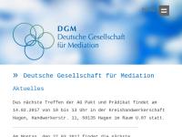 Deutsche Gesellschaft für Mediation e.V.