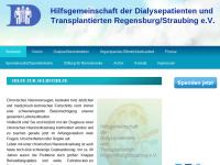 Hilfsgemeinschaft der Dialysepatienten und Transplantierten Regensburg/Straubing e.V.