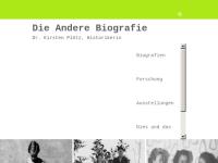 Die andere Biografie