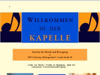 """""""Die Kapelle"""", Studio für Musik und Bewegung"""