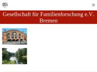 Die Maus - Gesellschaft für Familienforschung in Bremen e. V.