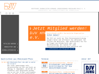 Deutscher Journalisten-Verband e.V. [DJV] - Gewerkschaft der Journalistinnen und Journalisten - Rheinland-Pfalz e.V.