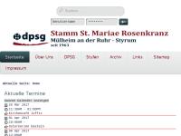 Deutsche Pfadfinderschaft St. Georg (DPSG), Stamm St. Mariae Rosenkranz