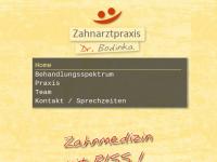 Zahnarzt Dr. Bodinka Würzburg