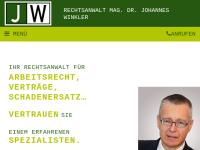Rechtsanwalt Dr. Johannes Winkler, Linz