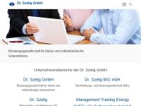 Dr.Szelig GmbH - Beratung für kleine und mittelständische Unternehmen