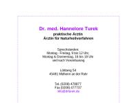 Turek, Dr. med. Hannelore