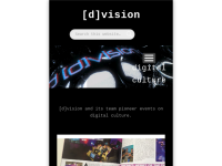 [d]vision - Int'l Festival for Digital Culture Vienna