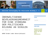 Deutsche Vereinigung für Politische Bildung e.V. [DVPB]