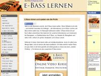 e-bass-lernen
