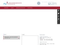 Fakultät für Ingenieurwissenschaften an der Universität Ulm