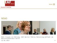 Europäische Akademie für Frauen in Politik und Wirtschaft Berlin e.V. (EAF)