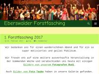 Eberswalder Forstfasching e.V. (EFF)