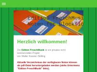 Edition FroschMusik - Noten für Blockflöten-Ensembles