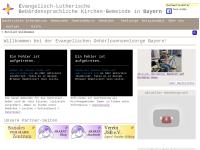 Gehörlosengemeinden der Ev.-Luth. Kirche in Bayern
