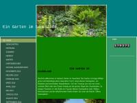 Ein Garten im Sauerland