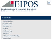 EIPOS - Europäisches Institut für postgraduale Bildung an der TU Dresden e. V.