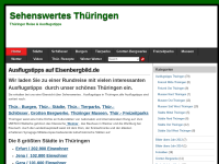Stadt Eisenberg - private Homepage