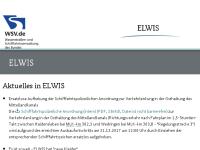 Elektronisches Wasserstraßen-Informationssystem (ELWIS)