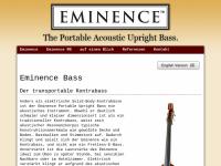 Eminence-Bass
