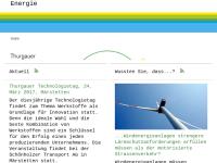 Die Energieseite des Kantons Thurgau