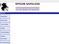 Epoche Napoleon - von der Bastille bis Waterloo