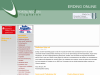 Flughafen Portal Erding online