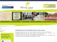 Netzwerk Erinnerung und Zukunft in der Region Hannover - Förderverein der Gedenkstätte Ahlem
