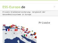 Vergleich Gesundheitssysteme (Krankenversicherungen) in Europa