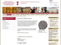 Evangelisch-theologische Fakultät Tübingen