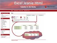 Excel Jeanie HTML